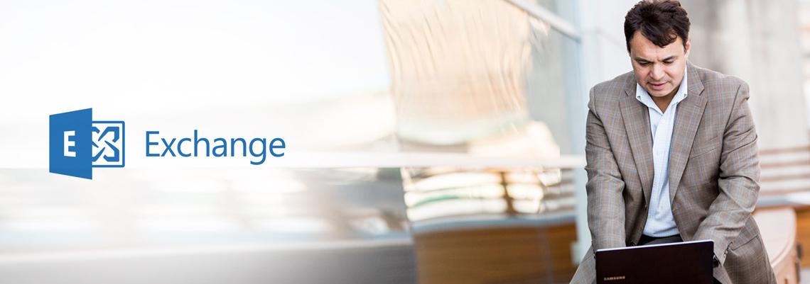 Exchange Online header